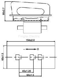 NTH fuse handle drawing