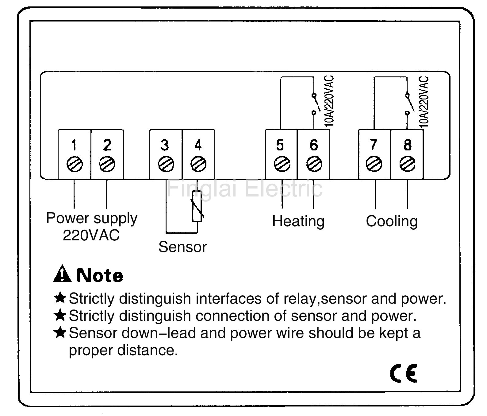 stc 1000 defrost temperature controller itc 1000 wiring diagram stc 1000 wiring diagram #13