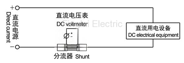 FL-2 series current shunt resistor wiring diagram