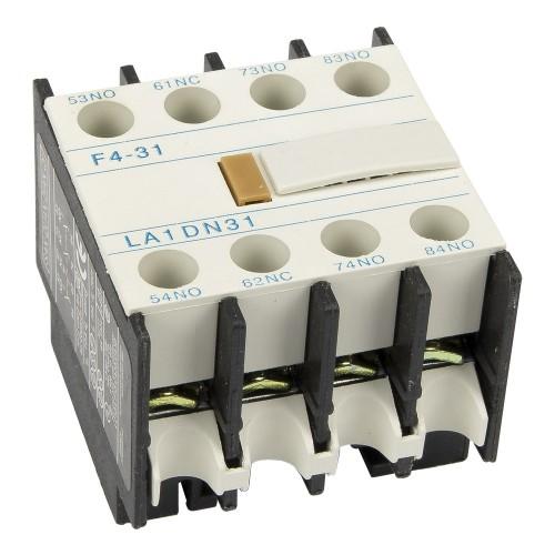 LA1-DN31 F4-31 3NO+1NC auxiliary contact block