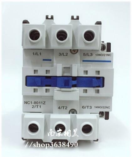 NC1-8011Z 24V 3P+NO+NC DC contactor