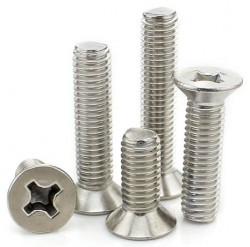 FS02 series cross recessed countersunk head screw