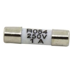 R054 5*20mm 1A 250V fast blow ceramic tube fuse