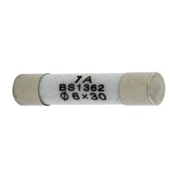 R058 6*30mm 1A fast blow ceramic tube fuse