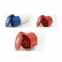 Industrial cable sleeve sockets