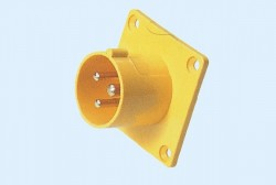 CM1-613-4, CM1-623-4 industrial flush mounting appliance inlet