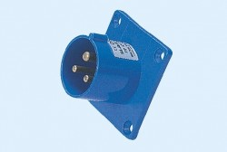 CM1-613, CM1-623 industrial flush mounting appliance inlet