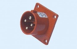 CM1-614, CM1-624 industrial flush mounting appliance inlet