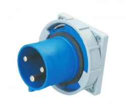 CM1-6332 and CM1-6432 industrial flush mounting appliance inlet