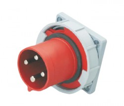 CM1-6342 and CM1-6442 industrial flush mounting appliance inlet