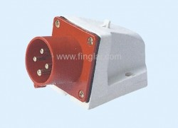 CM1-514 and CM1-524 industrial surface mounting appliance inlet