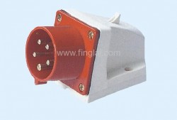 CM1-515 and CM1-525 industrial surface mounting appliance inlet