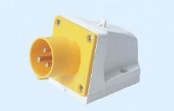 Industrial surface mounting appliance inlets