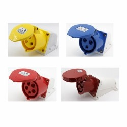 Industrial surface mounting sockets