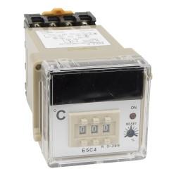 E5C4 220VAC K input digital temperature controller with socket
