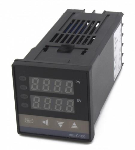REX-C100 relay output 1 alarm multiple inputs digital temperature controller