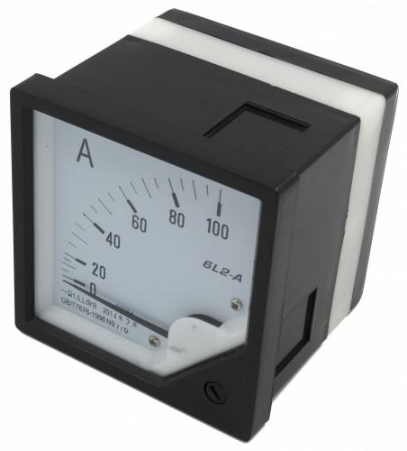 6L2-A 100A current transformer type ammeter
