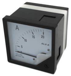 6L2 ammeter, voltmeter, frequency meter, factor meter, power meter