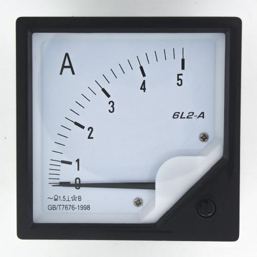 6L2-A5 80*80mm 5A pointer AC ammeter