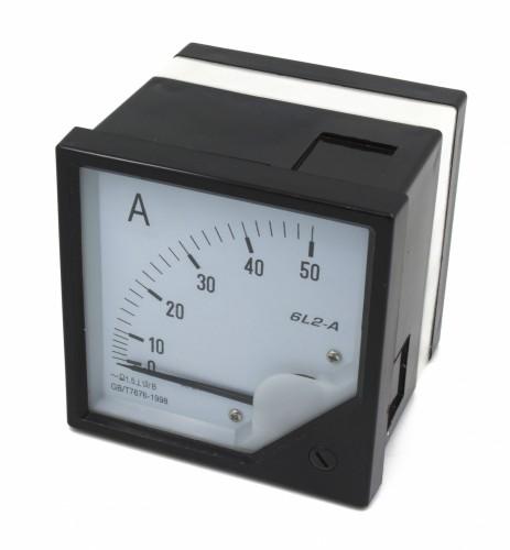 6L2-A 50A ammeter
