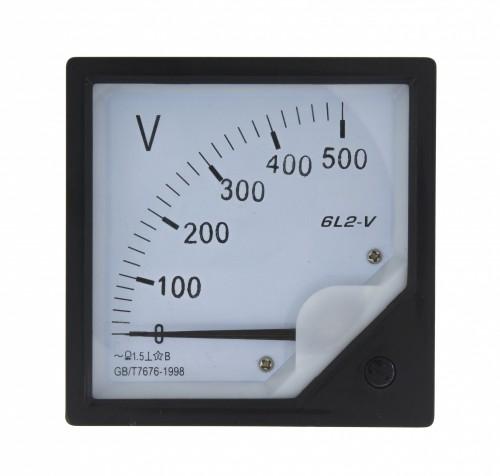 6L2-V 500V voltmeter