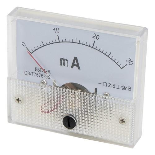85C1 0-30mA DC Ammeter