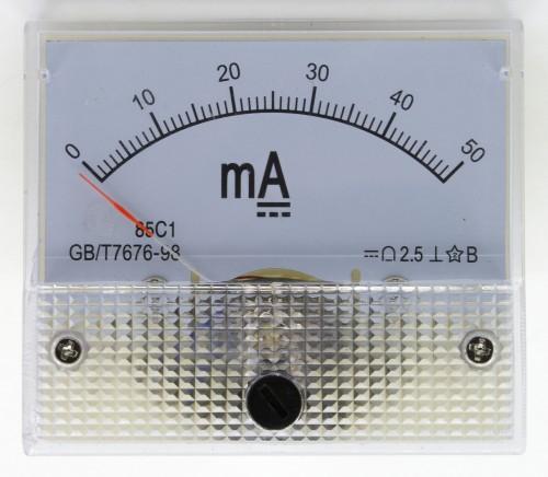 85C1 0-50mADCAmmeter