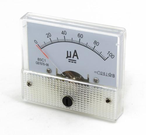 85C1 0-100μA DC Ammeter
