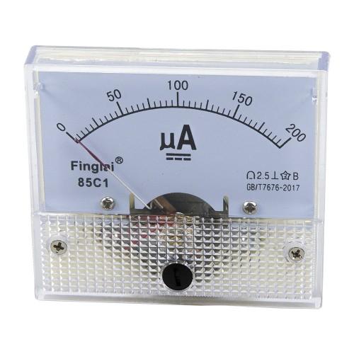 85C1 0-200μA DC Ammeter