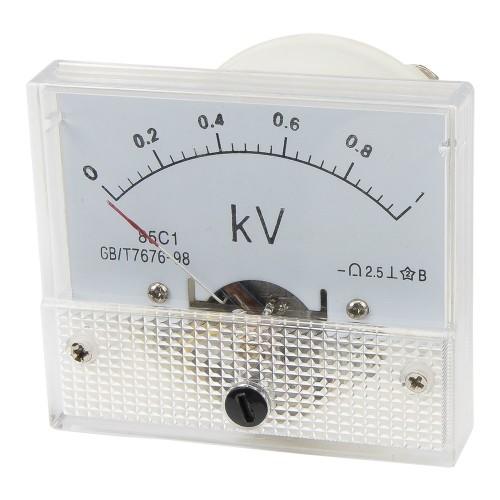 85C1 0-100V DC voltmeter