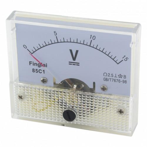 85C1 0-15V DC voltmeter
