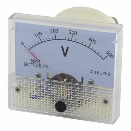 85C1 0-500V DC voltmeter