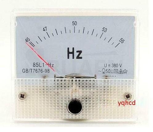 85L1 45-5Hz 380V pointer frequency meter