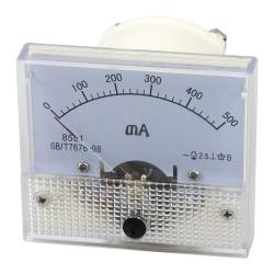 85L1-MA500 500mA pointer ammeter