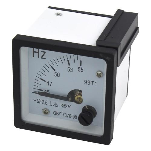 99T1-HZ 45-65Hz 380V 48*48mm pointer AC analog frequency meter