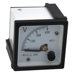 99T1-V450 450V pointer ammeter and voltmeter
