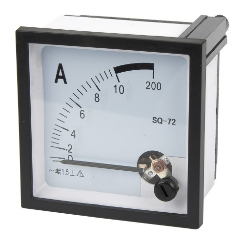 SQ-72-A10 72*72mm 10A pointer AC ammeter