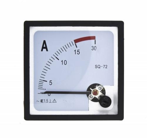 SQ-72-A15 72*72mm 15A pointer AC ammeter