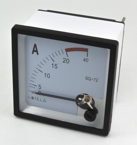 SQ-72-A20 72*72mm 20A pointer AC ammeter