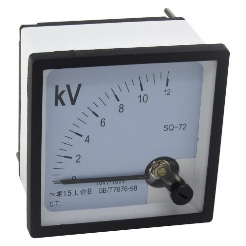 SQ-72-V 10K/100V pointer voltmeter