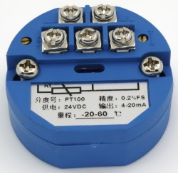FTT01-C20 4-20mA output -20-60℃ range temperature transmitter