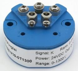FTT02 K input 0-10V output temperature transmitter