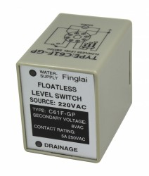 C61F-GP 220VAC floatless level relay without socket