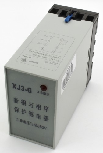 XJ3-G phase failure phase sequence protection relay