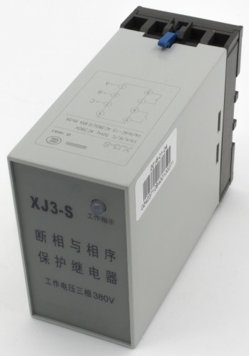 XJ3-S phase failure phase sequence protection relay