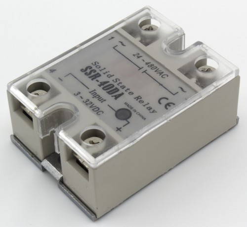 SSR-40DA single phase DC to AC solid state relay