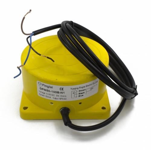 GPM50-100B-N1 Φ100*52 50mm sensing NPN NO panel mounting inductive proximity sensor