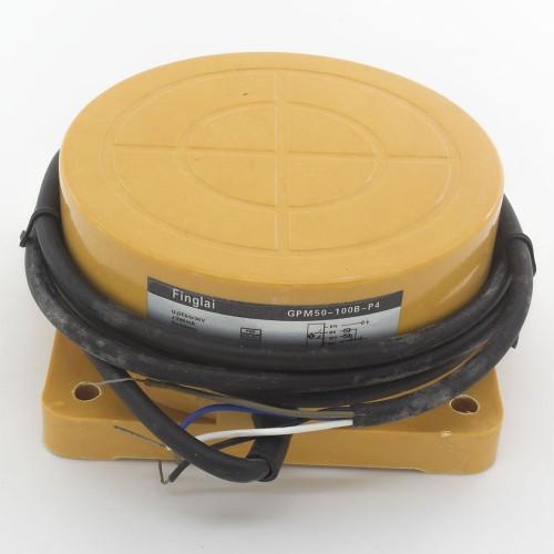 GPM50-100B-P4 Φ100*52 50mm sensing PNP NO+NC panel mounting inductive proximity sensor
