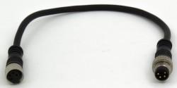 FSC88-MFSS-44 0.2m black cable sensor connector