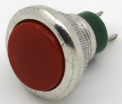 12mm DS series push button with φ12 mm perforate dimensions